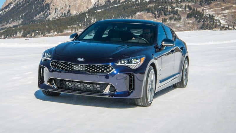 2019 Kia Stinger GT Atlantica Special Edition front 3/4 view