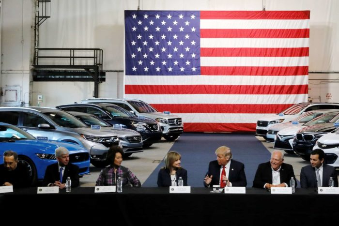 trump auto tariffs - Donald Trump proposes 25% automotive tariff that could hike the price of most vehicles on the market