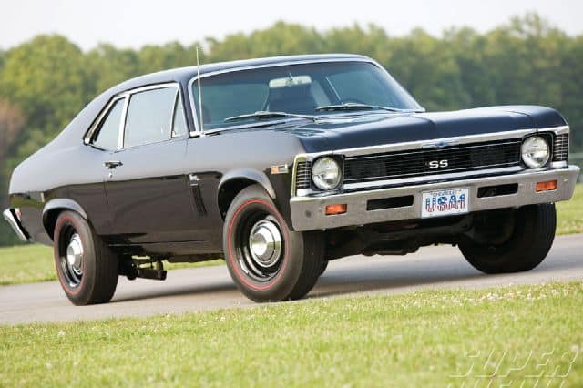 Chevy Nova SS Cheap Classic Muscle Cars