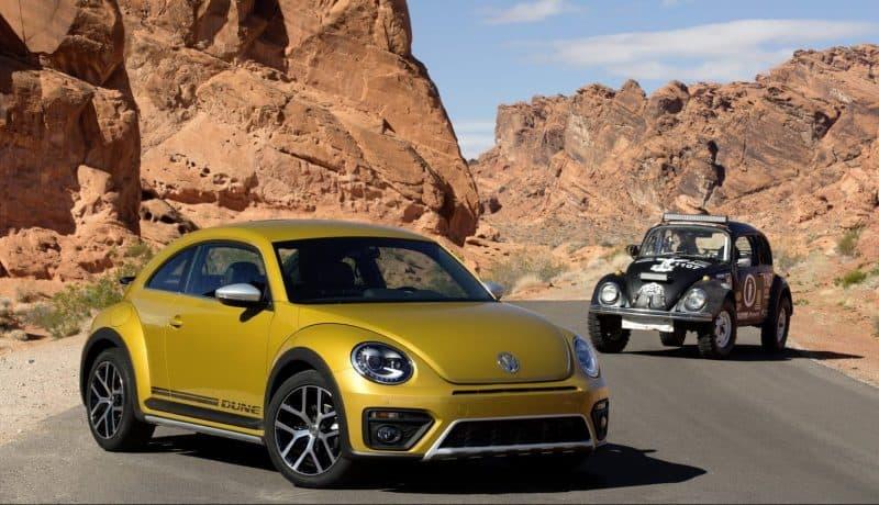 Volkswagen Beetle Dune front 3/4 view