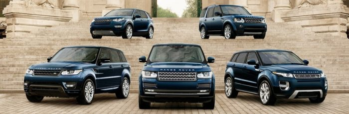 2018 Land Rover model lineup