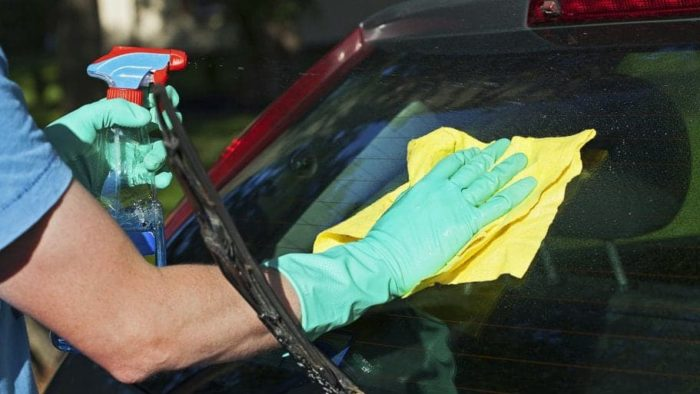 Car Glass Cleaners