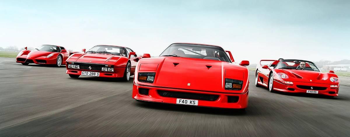 2018 Ferrari model lineup