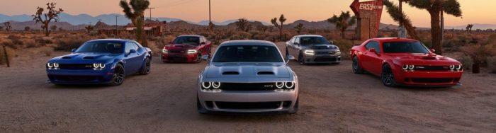 2019 Dodge model lineup