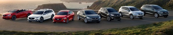2018 Buick model lineup
