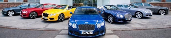Bentley model lineup