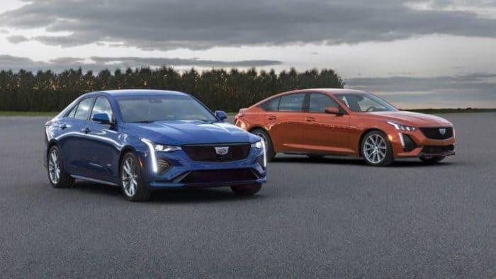 Cadillac CT4-V and Cadillac CT5-V