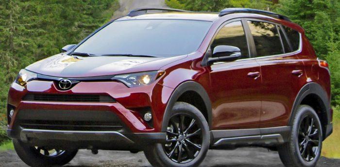 2018 Toyota RAV4 - left front view