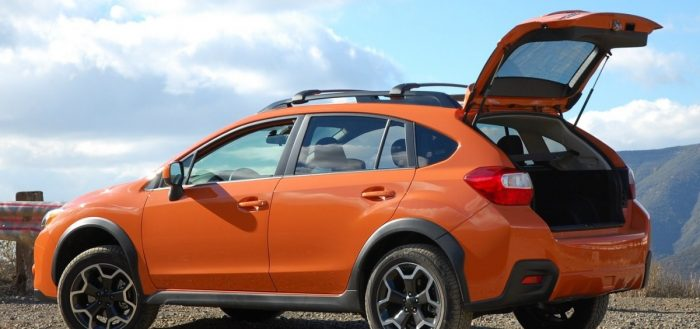2014 Subaru XV Crosstrek - left rear view