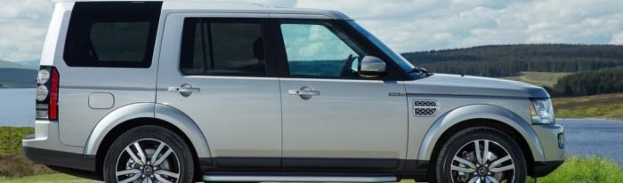 2015 Land Rover LR4 - right side view
