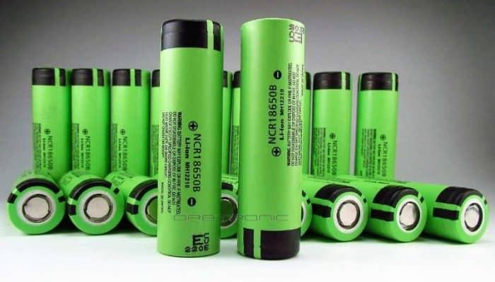 panasonic 18650 batteries