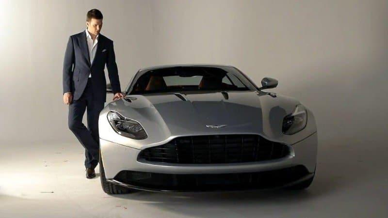2017 Aston Martin DB11 - Tom Brady ad