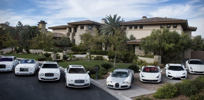 Floyd Mayweather's epic vehicle collection