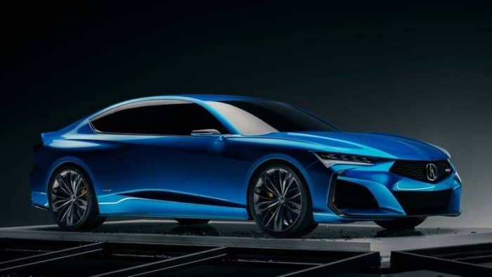 2020 Acura Type S Concept car