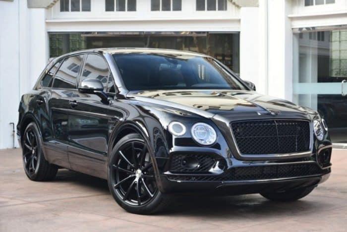 2018 Bentley Bentayga - most expensive SUVs