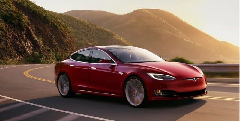 2018 Tesla Model S - passenger view