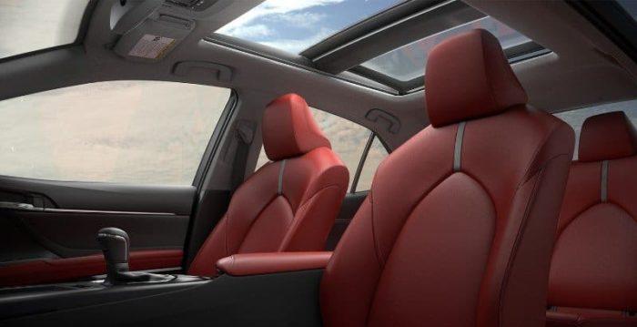 2019 Toyota Camry - interior view