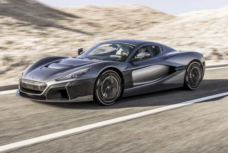 Rimac C_Two is one of the 2020 electric cars