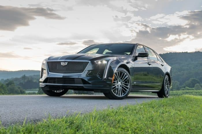 Cadillac CT6-V front 3/4 view
