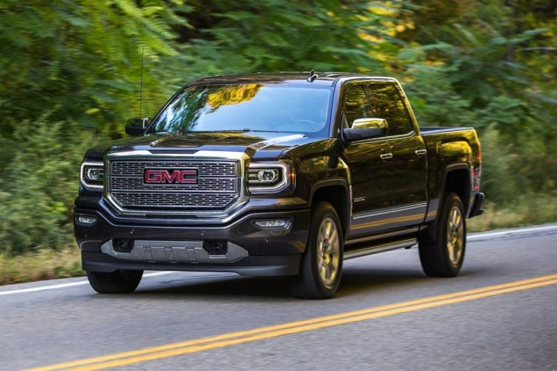 2017 GMC Sierra - left front view