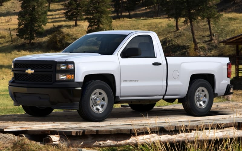 2014 Chevrolet Silverado 1500 Work Truck - left side view