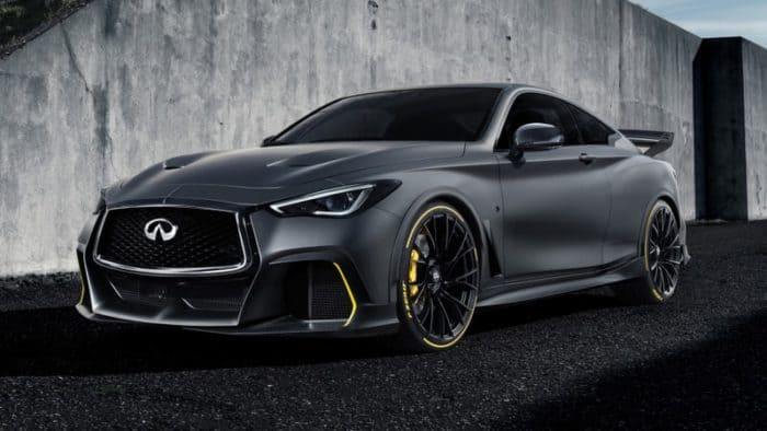 Infiniti Q60 Project Black S prototype might yield a production model in 2020