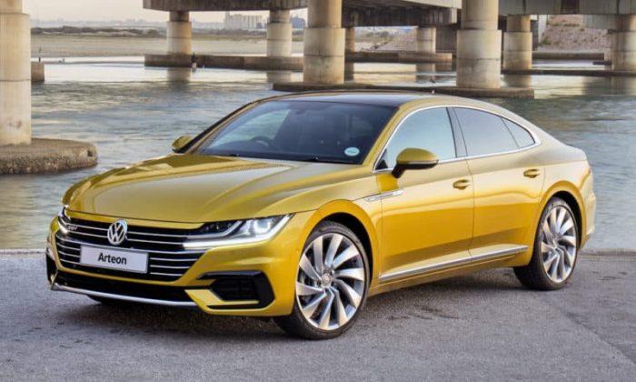 Volkswagen Arteon front 3/4 view