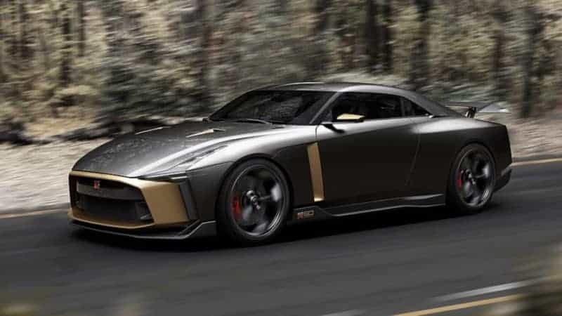 Nissan GT-R50 front 3/4 view
