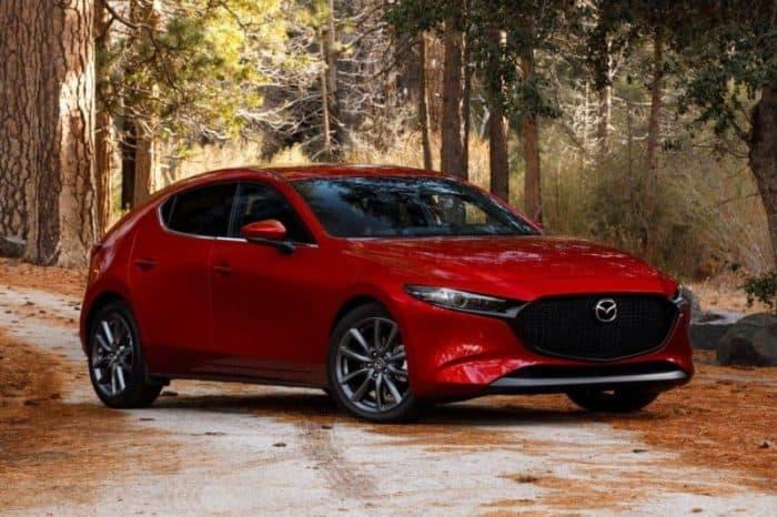 Mazda 3 hatchback for 2019 and 2020