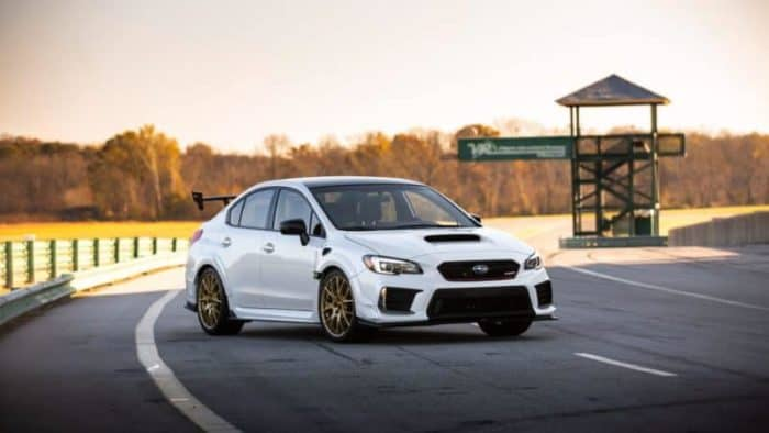 2020 Subaru WRX STI S209 limited-run model