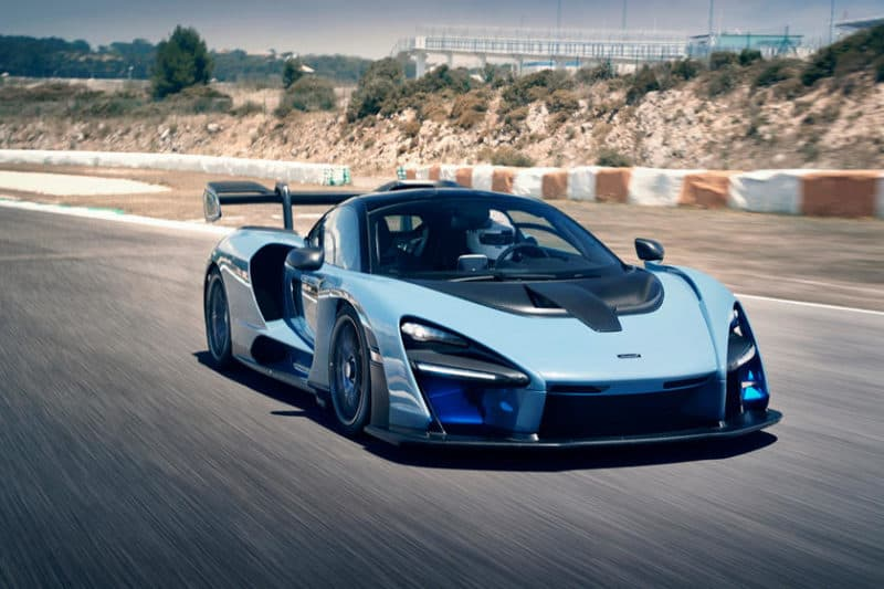 McLaren Senna is a mighty track day car