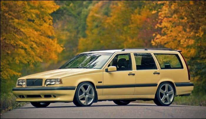 Volvo 850 R is the epitome of sleeper cars