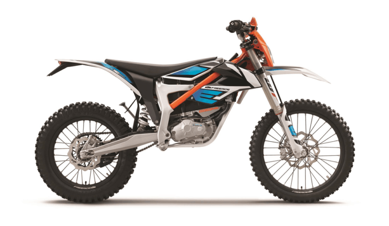 KTM Freeride E-XC Side View