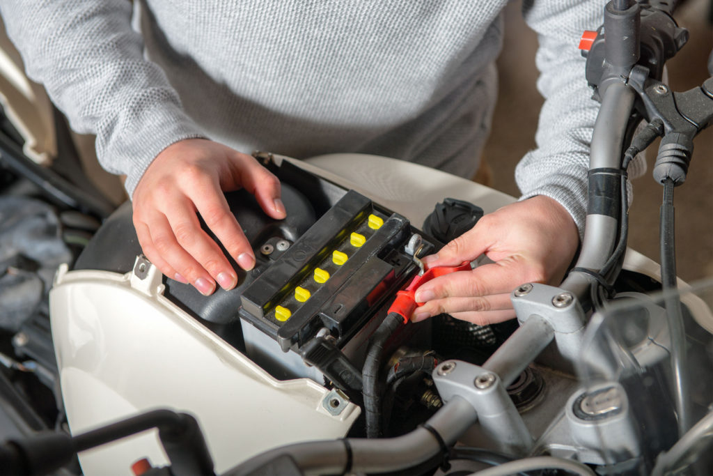 Installing the best motorcycle battery