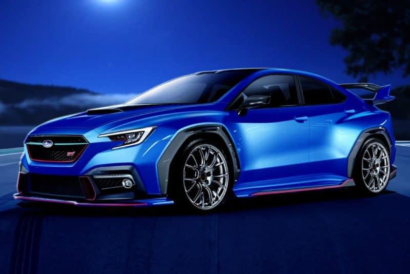 Subaru WRX STI rendering