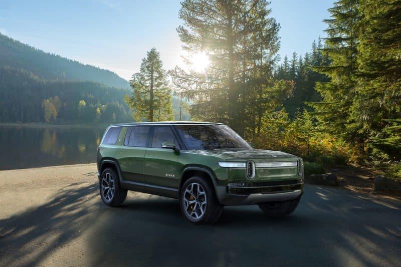 2021 Rivian R1S all-electric SUV