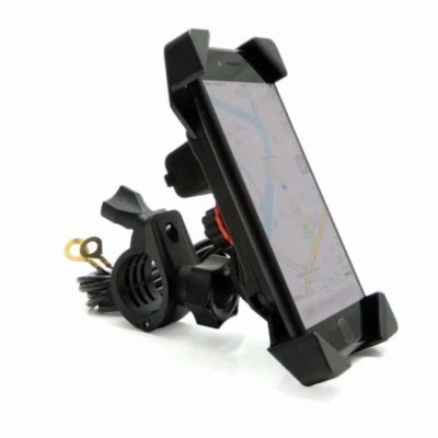 Issyzone Motorcycle Phone USB Charger Mount