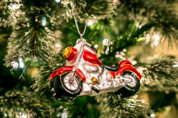 motorcycle gifts - motorcycle ornament