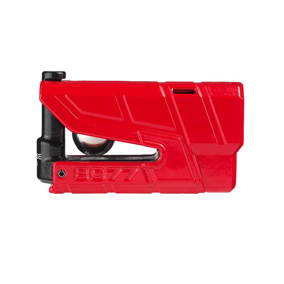 Abus Granit Detecto X-Plus 8077 Alarm Disc Lock red