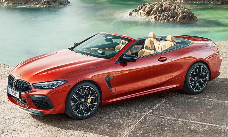 BMW M8 is one of the best 2021 convertibles money can buy