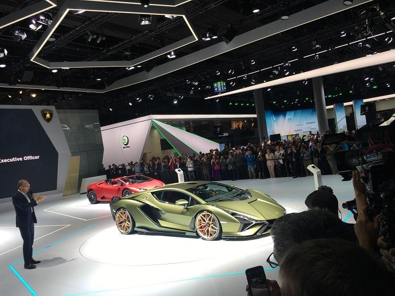 Lamborghini Sian Frankfurt