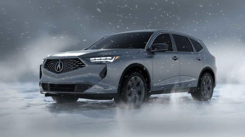 Acura MDX rendering