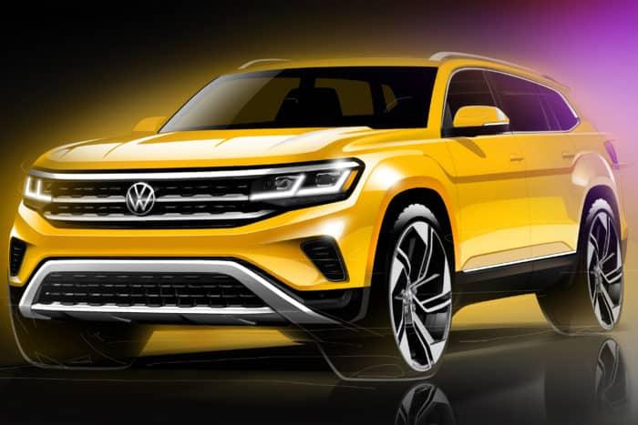 2021 Volkswagen Atlas Teaser