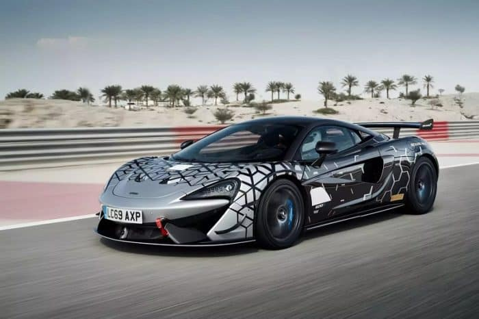 2021 McLaren 620R On Track