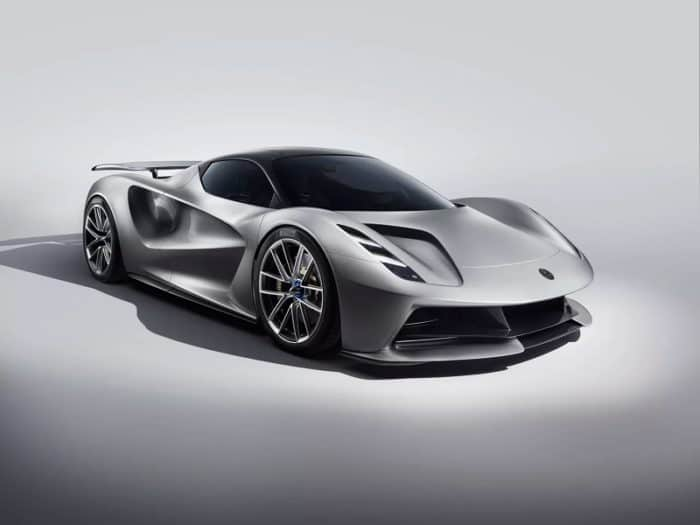 2021 Lotus Evija Side