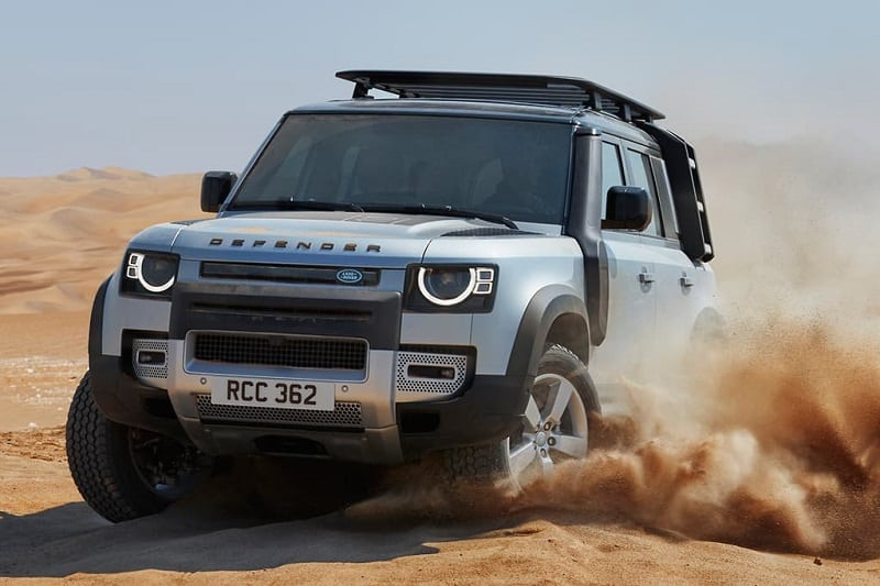 2020 Land Rover Defender Off-Road - Front View