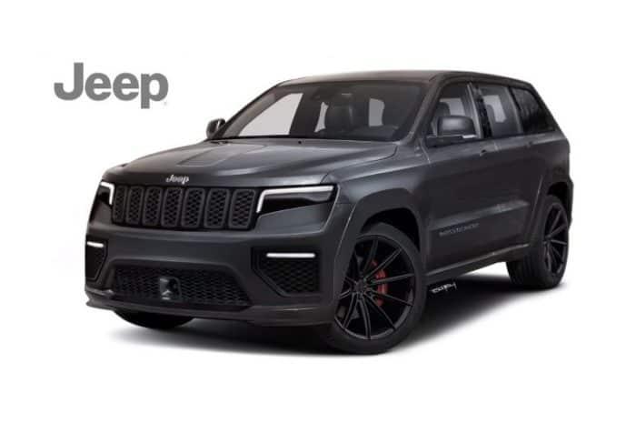 2021 Jeep Wagoneer Rendering