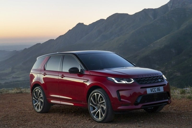 Discovery Sport front 3/4 view