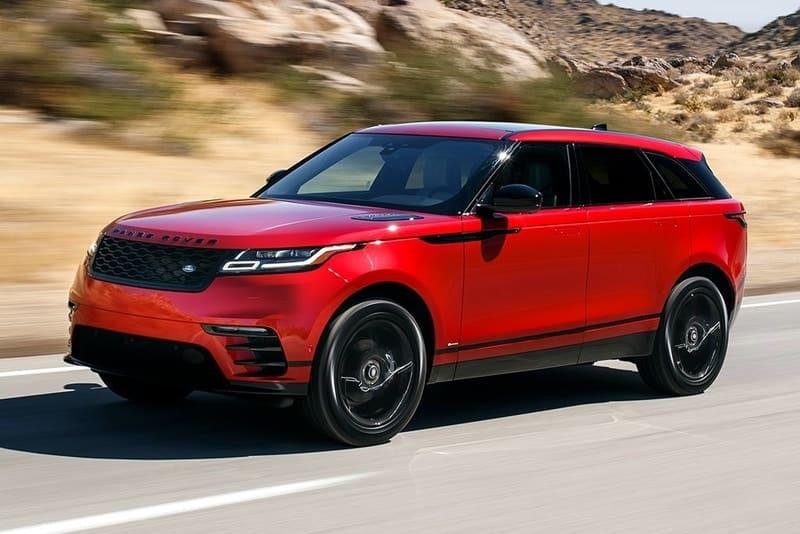 Range Rover Velar front 3/4 view