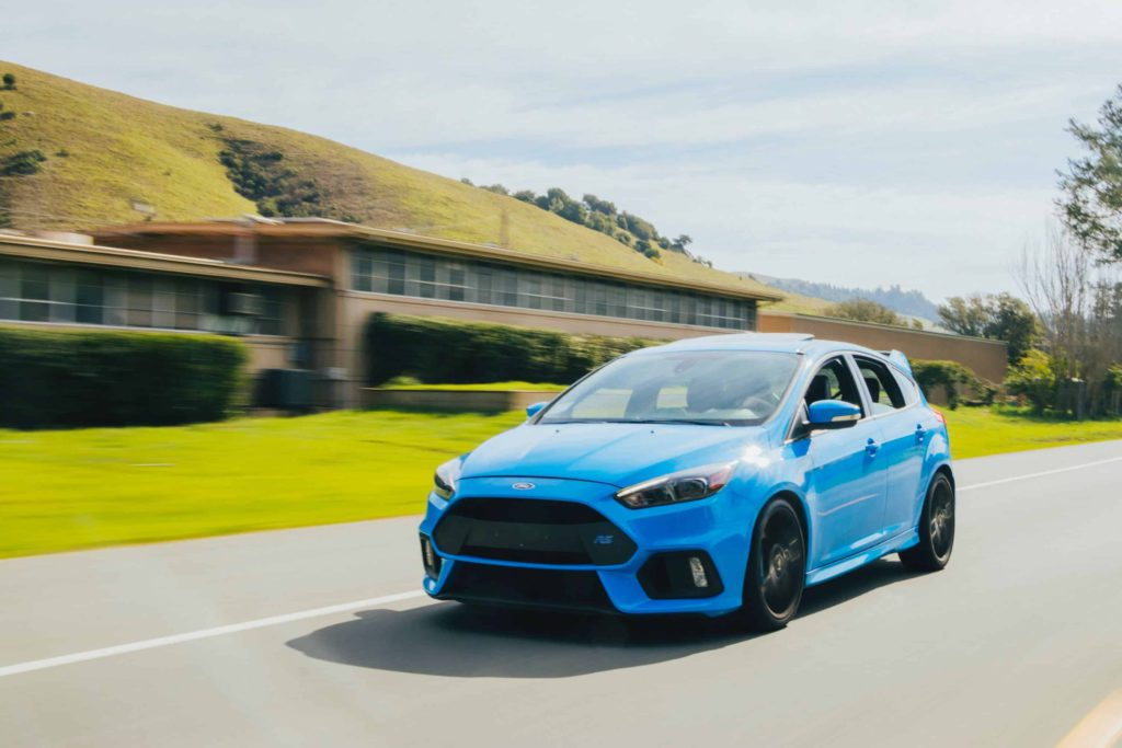 Ford Focus RS hot hatch